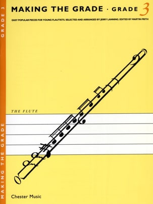 Jerry Lanning - Making the grade Clarinet – Grade 3 - Partition - di-arezzo.fr