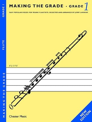 Jerry Lanning - Making the grade Flute - Grade 1 - Partition - di-arezzo.fr