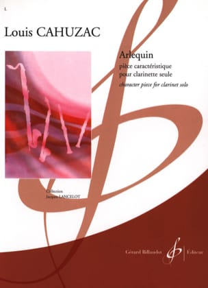 Louis Cahuzac - Harlequin - Sheet Music - di-arezzo.co.uk