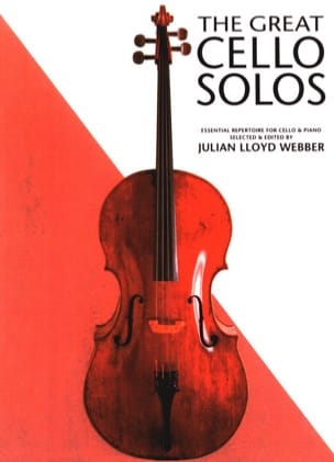 The great cello solos Webber Julian Lloyd Partition laflutedepan
