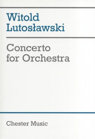 Concerto for orchestra - Score Witold Lutoslawski laflutedepan
