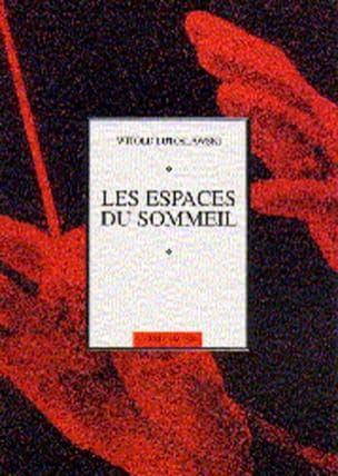 Witold Lutoslawski - Les espaces du sommeil - Partition - di-arezzo.fr