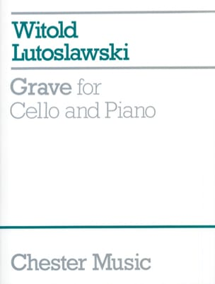 Witold Lutoslawski - Serious - Sheet Music - di-arezzo.co.uk