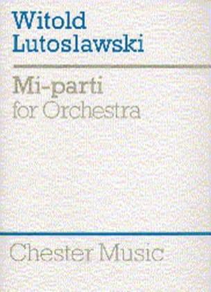 Mi-Parti – Score - Witold Lutoslawski - Partition - laflutedepan.com