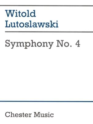 Symphony N° 4 F/S - Conducteur Witold Lutoslawski laflutedepan
