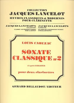 Louis Cahuzac - Classical sonata n ° 2 - Sheet Music - di-arezzo.co.uk