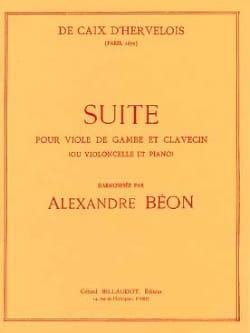 d'Hervelois Louis de Caix - Suite - Partition - di-arezzo.fr