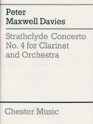 Davies Peter Maxwell - Strathclyde Concerto N° 4 - Partition - di-arezzo.fr