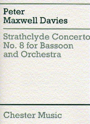 Davies Peter Maxwell - Strathclyde Concerto n° 8 - Partition - di-arezzo.fr