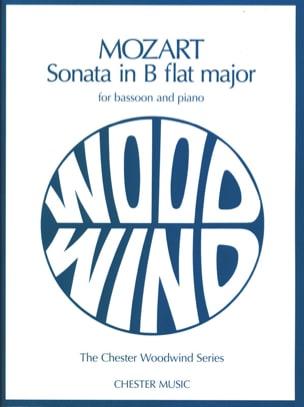Sonata In Bb Kv 292 MOZART Partition Basson - laflutedepan