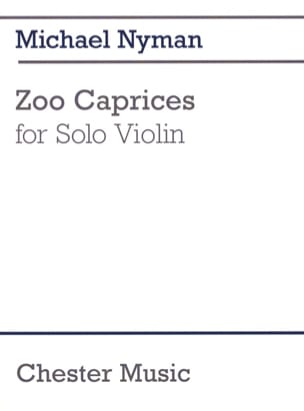Michael Nyman - Zoo Caprices - Partition - di-arezzo.fr