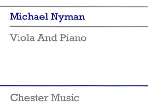 Viola and Piano - Michael Nyman - Partition - Alto - laflutedepan.com