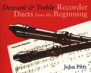 John Pitts - Descant And Treble Recorder - 2 Fl A Bec - Partition - di-arezzo.fr