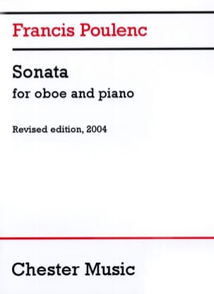 Francis Poulenc - Sonate - Oboe and piano - Sheet Music - di-arezzo.co.uk