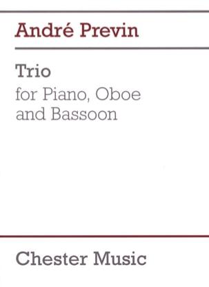 Trio -Piano Oboe Bassoon André Prévin Partition Trios - laflutedepan