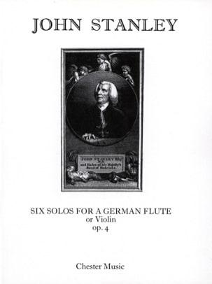 Six Solos for german flute op. 4 - Flute or violin laflutedepan