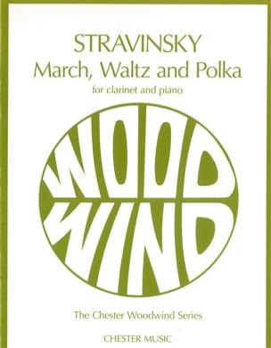 March, Waltz And Polka STRAVINSKY Partition Clarinette - laflutedepan