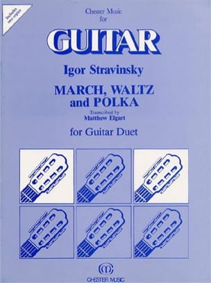 Marsch, Waltz and Polka - Guitar Duet Igor Stravinsky laflutedepan