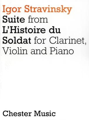 Igor Stravinsky - Soldier's Story Suite - Clarinet Violin Piano - Sheet Music - di-arezzo.co.uk