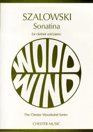 Antoni Szalowski - Sonatina para clarinete y piano - Partitura - di-arezzo.es
