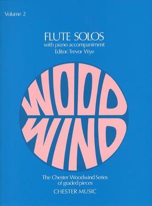 Trevor Wye - Flute Solos - Volume 2 – Flute piano - Partition - di-arezzo.fr