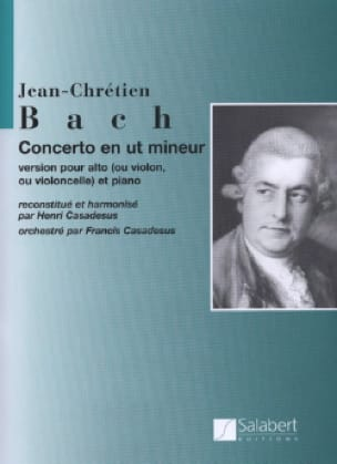 Johann Christian Bach - Concerto in C minor - Cello - Sheet Music - di-arezzo.co.uk