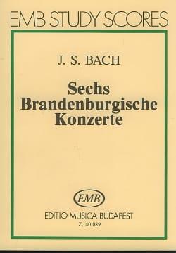 BACH - 6 Brandenburgische Konzerte - Sheet Music - di-arezzo.co.uk