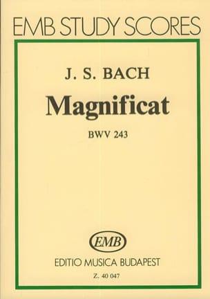 BACH - Magnificat BWV 243 – Partitur - Partition - di-arezzo.fr