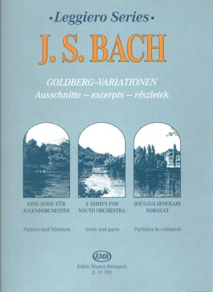 BACH - Variations Goldberg extr. - String orch. - Partition - di-arezzo.fr