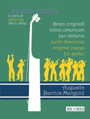Mangore Agustin Barrios - Latin American Original pieces for guitar - Sheet Music - di-arezzo.com