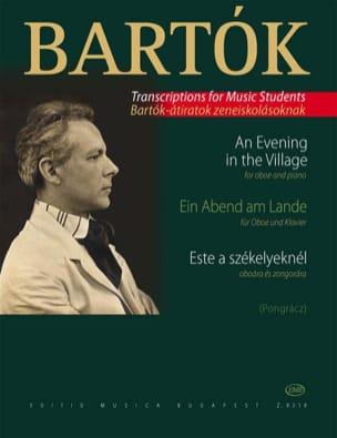 Béla Bartok - Ein Abend Am Lande - Partition - di-arezzo.fr