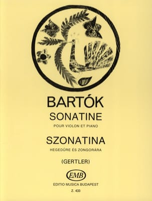 Béla Bartok - Sonatine - Violine Klavier - Sheet Music - di-arezzo.co.uk