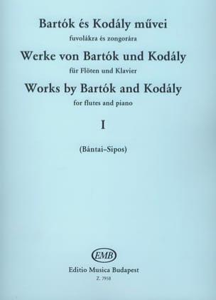 BARTOK - Werke von Bartok und Kodaly - Bd. 1 - Flöte Klavier - Partition - di-arezzo.fr