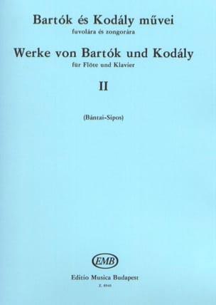 BARTOK - Werke von Bartok und Kodaly - Bd. 2 - Flauta Klavier - Partitura - di-arezzo.es