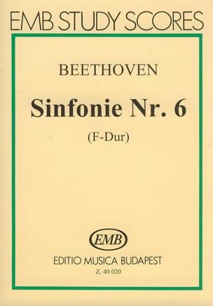 BEETHOVEN - Symphonie n° 6 – Partitur - Partition - di-arezzo.fr