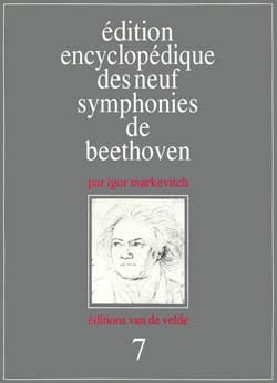 Symphonie n° 7 - Conducteur BEETHOVEN Partition laflutedepan