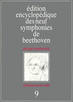 Symphonie n° 9 - Conducteur - BEETHOVEN - Partition - laflutedepan.com