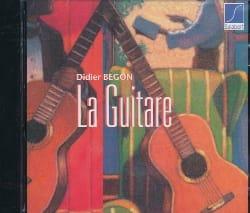 CD Méthode De Guitare / CD - Didier Begon - laflutedepan.com