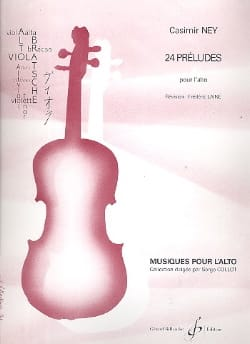 Casimir-Ney - 24 Preludes for viola - Sheet Music - di-arezzo.com