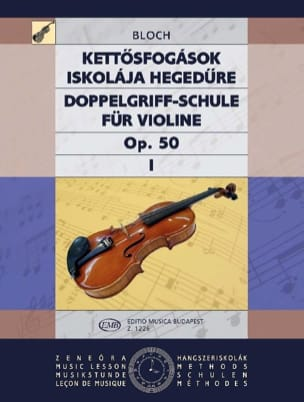 Jozsef Bloch - Doppelgriff-Schule op. 50 - Bd. 1 - Sheet Music - di-arezzo.co.uk