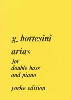 Arias - Giovanni Bottesini - Partition - laflutedepan.com