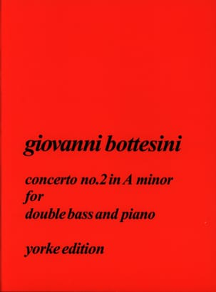 Giovanni Bottesini - Concerto N ° 2 in the Minor - Sheet Music - di-arezzo.com