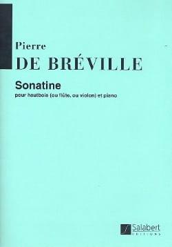 Pierre-Onfroy de Bréville - Sonatine - Partition - di-arezzo.fr