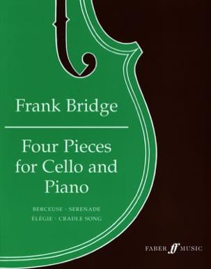 Frank Bridge - 4 Pièces - VIoloncelle - Partition - di-arezzo.fr