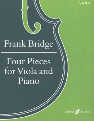 Frank Bridge - 4 rooms - Alto - Sheet Music - di-arezzo.com