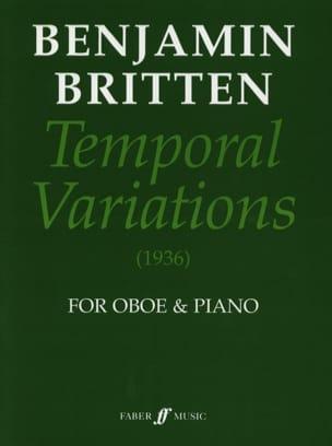 Temporal variations BRITTEN Partition Hautbois - laflutedepan
