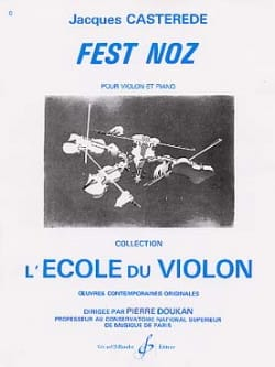 Jacques Castérède - Fest Noz - Sheet Music - di-arezzo.co.uk