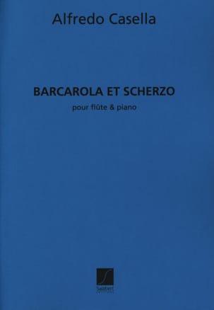 Alfredo Casella - Barcarola and Scherzo - Sheet Music - di-arezzo.com