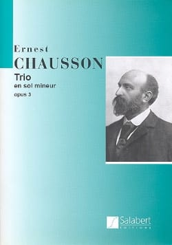 Ernest Chausson - Trio in G minor op. 3 - Sheet Music - di-arezzo.com