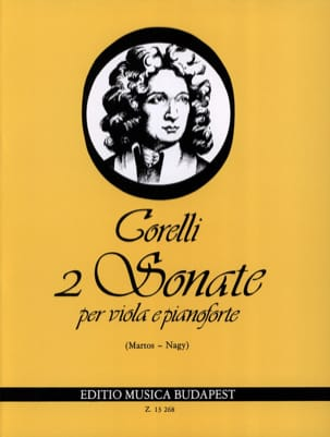 Arcangelo Corelli - 2 Sonates, op. 5 n° 7-8 – Viola - Partition - di-arezzo.fr